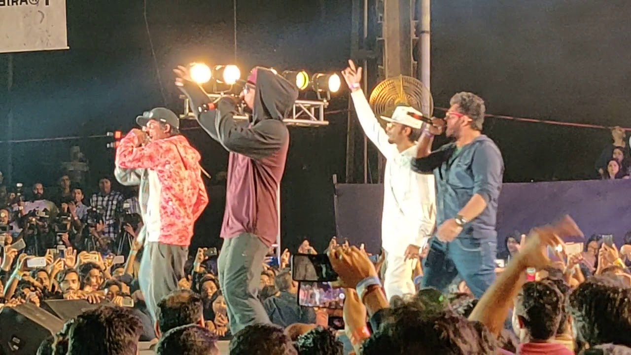 LIVE at Gully Boy Launch